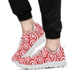 Candy Pattern Print Design 03 Sneakers White