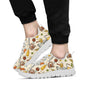 Beer Pattern Print Design 05 Sneakers White
