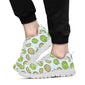 Cantaloupe Pattern Print Design 02 Sneakers White