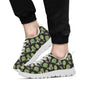 Artichoke Pattern Print Design 02 Sneakers White