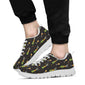 Champagne Pattern Print Design 04 Sneakers White