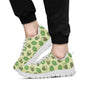 Artichoke Pattern Print Design 03 Sneakers White
