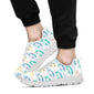 Armadillo Pattern Print Design 05 Sneakers White
