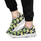 Artichoke Pattern Print Design 01 Sneakers White