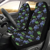 Blueberry Pattern Print Design BB01 Universal Fit Car Seat Covers