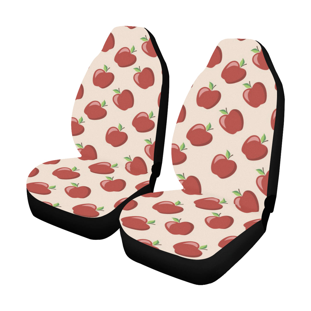 Apple Pattern Print Design AP01 Universal Fit Car Seat Covers