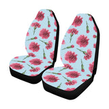 Carnations Pattern Print Design CN01 Universal Fit Car Seat Covers