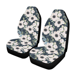 Anemone Pattern Print Design AM02 Universal Fit Car Seat Covers