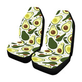 Avocado Pattern Print Design AC06 Universal Fit Car Seat Covers