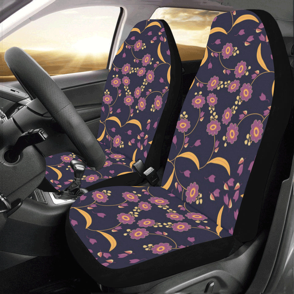 Anemone Pattern Print Design AM012 Universal Fit Car Seat Covers