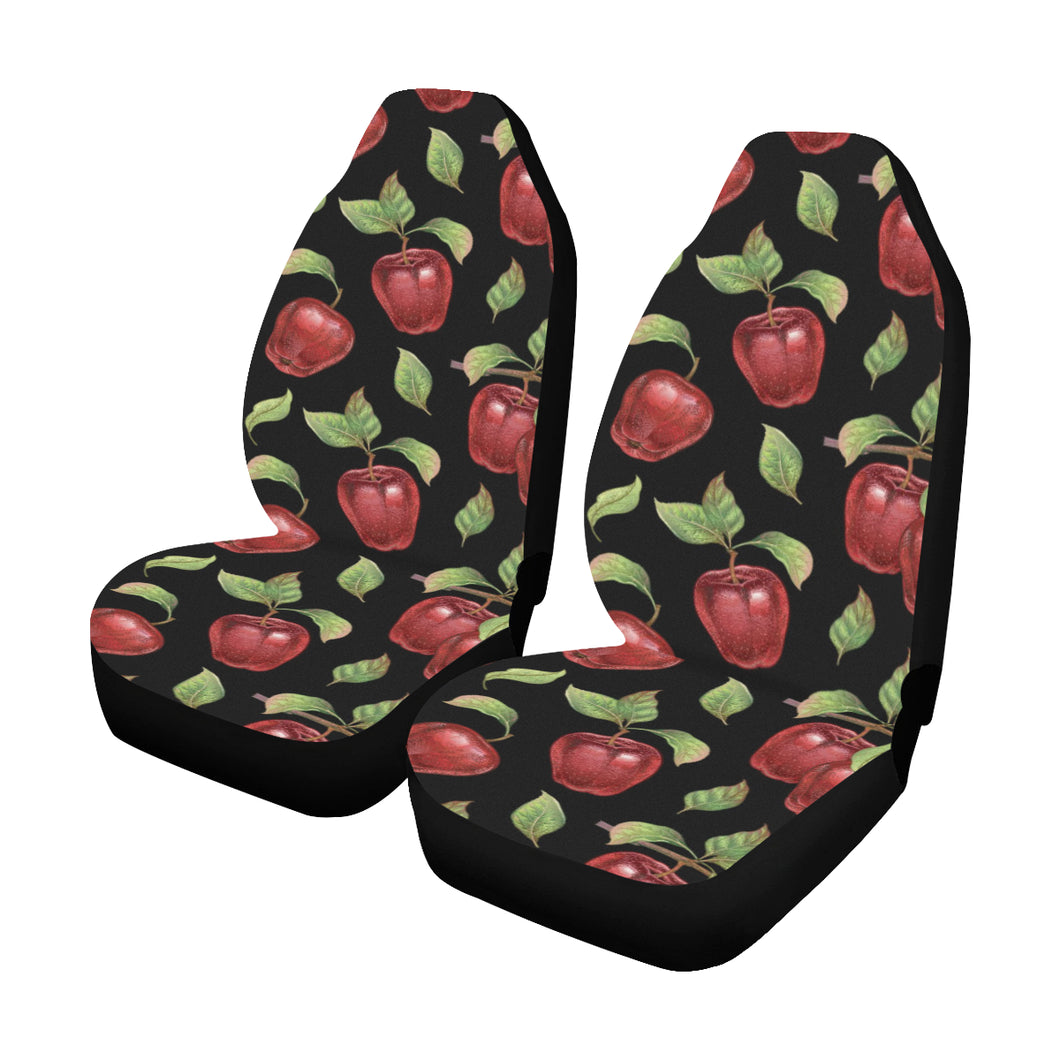 Apple Pattern Print Design AP011 Universal Fit Car Seat Covers