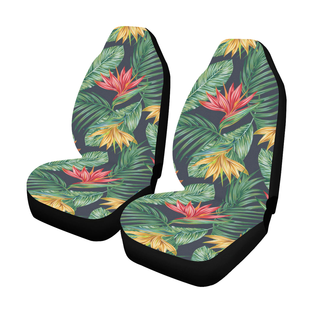 Bird Of Paradise Pattern Print Design BOP09 Universal Fit Car Seat Covers