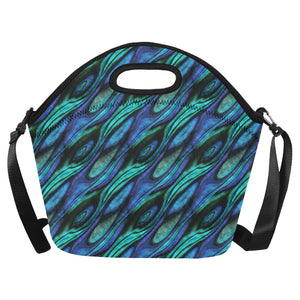 Abalone Pattern Print Design 03 Neoprene Lunch Bag