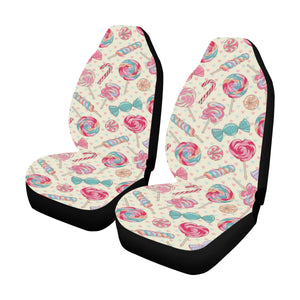 Candy Pattern Print Design CA04 Universal Fit Car Seat Covers