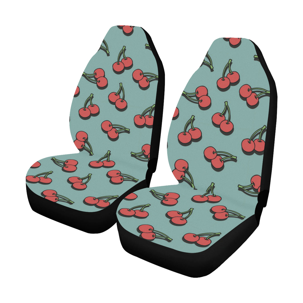 Cherry Pattern Print Design CH03 Universal Fit Car Seat Covers