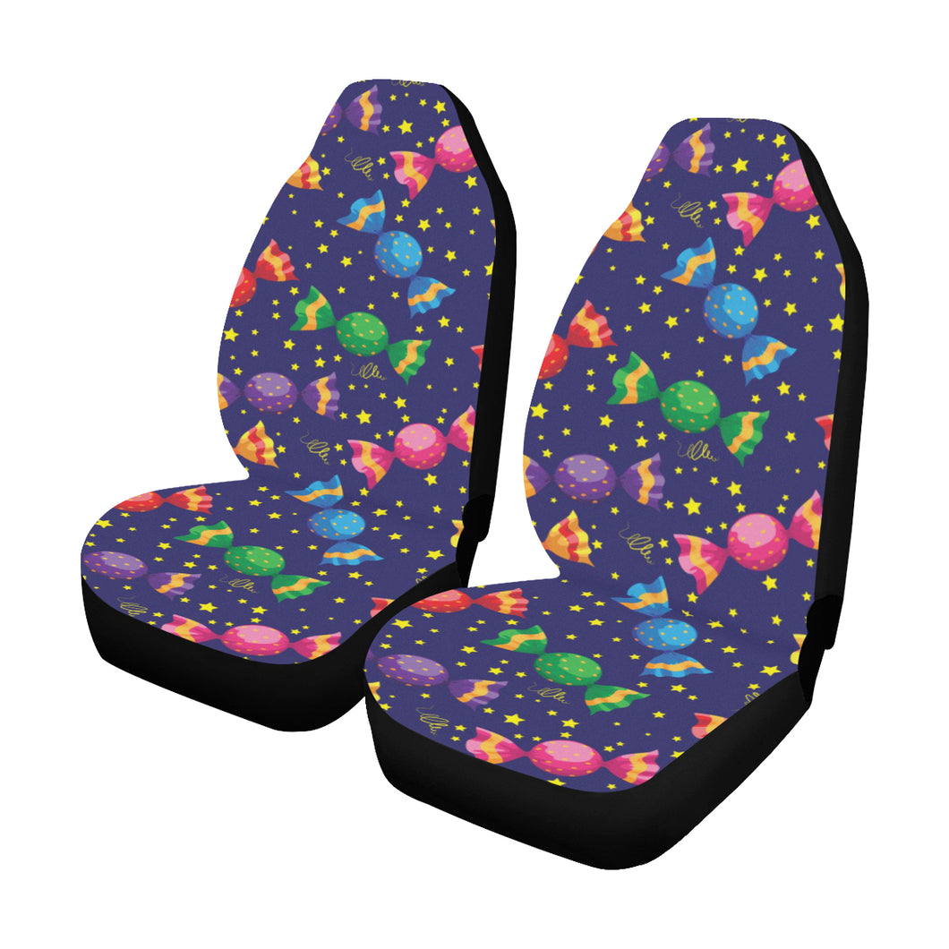 Candy Pattern Print Design CA06 Universal Fit Car Seat Covers