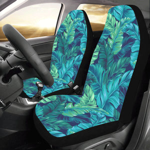 Banana Leaf Pattern Print Design BL05 Universal Fit Car Seat Covers