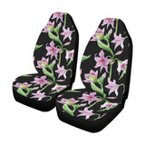 Amaryllis Pattern Print Design AL08 Universal Fit Car Seat Covers