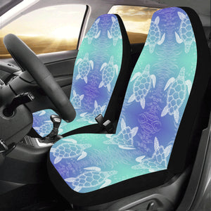 Sea Turtle Draw Universal Fit Car Seat Covers