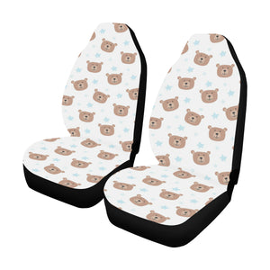 Bear Pattern Print Design BE02 Universal Fit Car Seat Covers