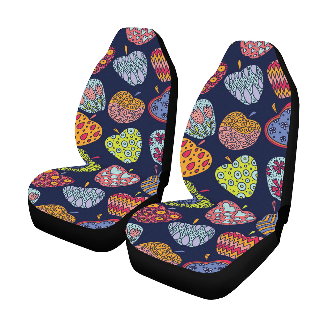 Apple Pattern Print Design AP05 Universal Fit Car Seat Covers