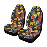 Bird Of Paradise Pattern Print Design BOP016 Universal Fit Car Seat Covers