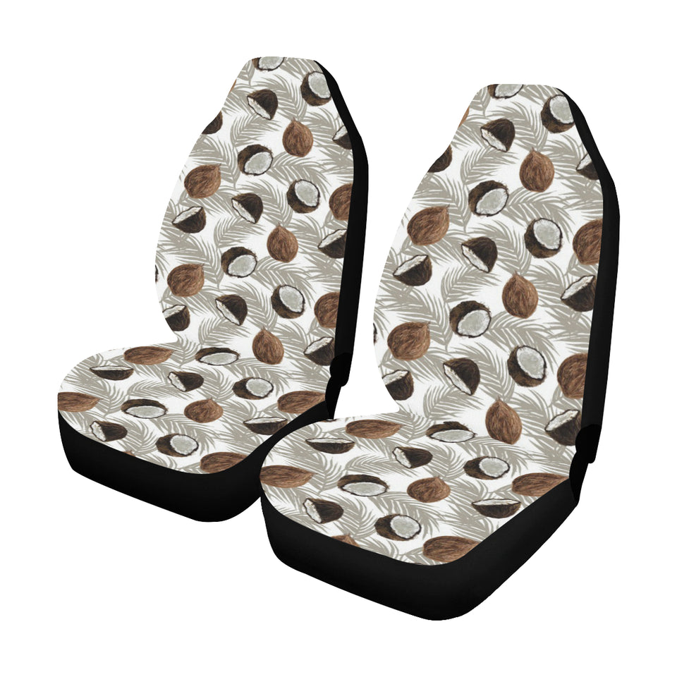 Coconut Pattern Print Design CN03 Universal Fit Car Seat Covers