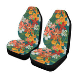 Amaryllis Pattern Print Design AL06 Universal Fit Car Seat Covers