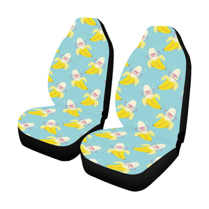 Banana Pattern Print Design BA07 Universal Fit Car Seat Covers