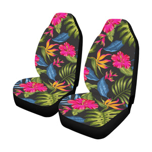 Bird Of Paradise Pattern Print Design BOP014 Universal Fit Car Seat Covers