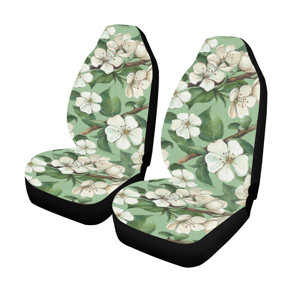Apple blossom Pattern Print Design AB02 Universal Fit Car Seat Covers