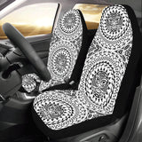Polynesian Tribal Mask Universal Fit Car Seat Covers