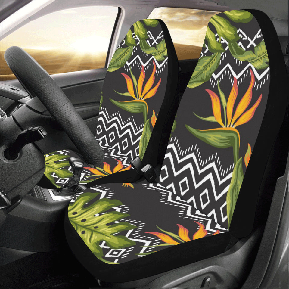 Bird Of Paradise Pattern Print Design BOP07 Universal Fit Car Seat Covers