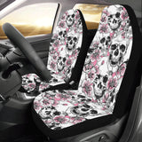 Cherry Blossom Pattern Print Design CB03 Universal Fit Car Seat Covers