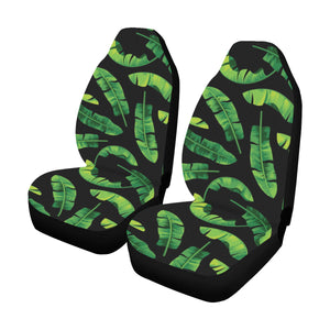 Banana Leaf Pattern Print Design BL02 Universal Fit Car Seat Covers