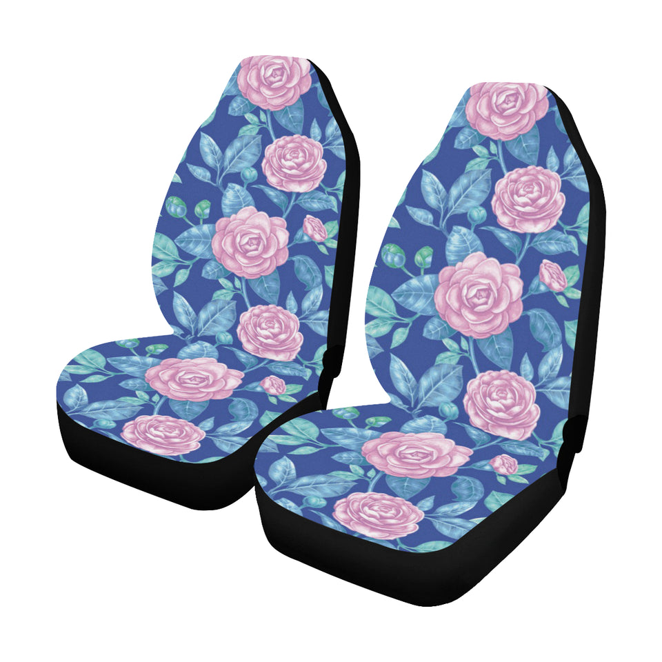 Camellia Pattern Print Design CM05 Universal Fit Car Seat Covers