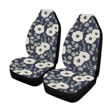 Anemone Pattern Print Design AM01 Universal Fit Car Seat Covers
