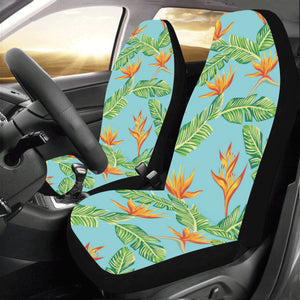 Bird Of Paradise Pattern Print Design BOP04 Universal Fit Car Seat Covers