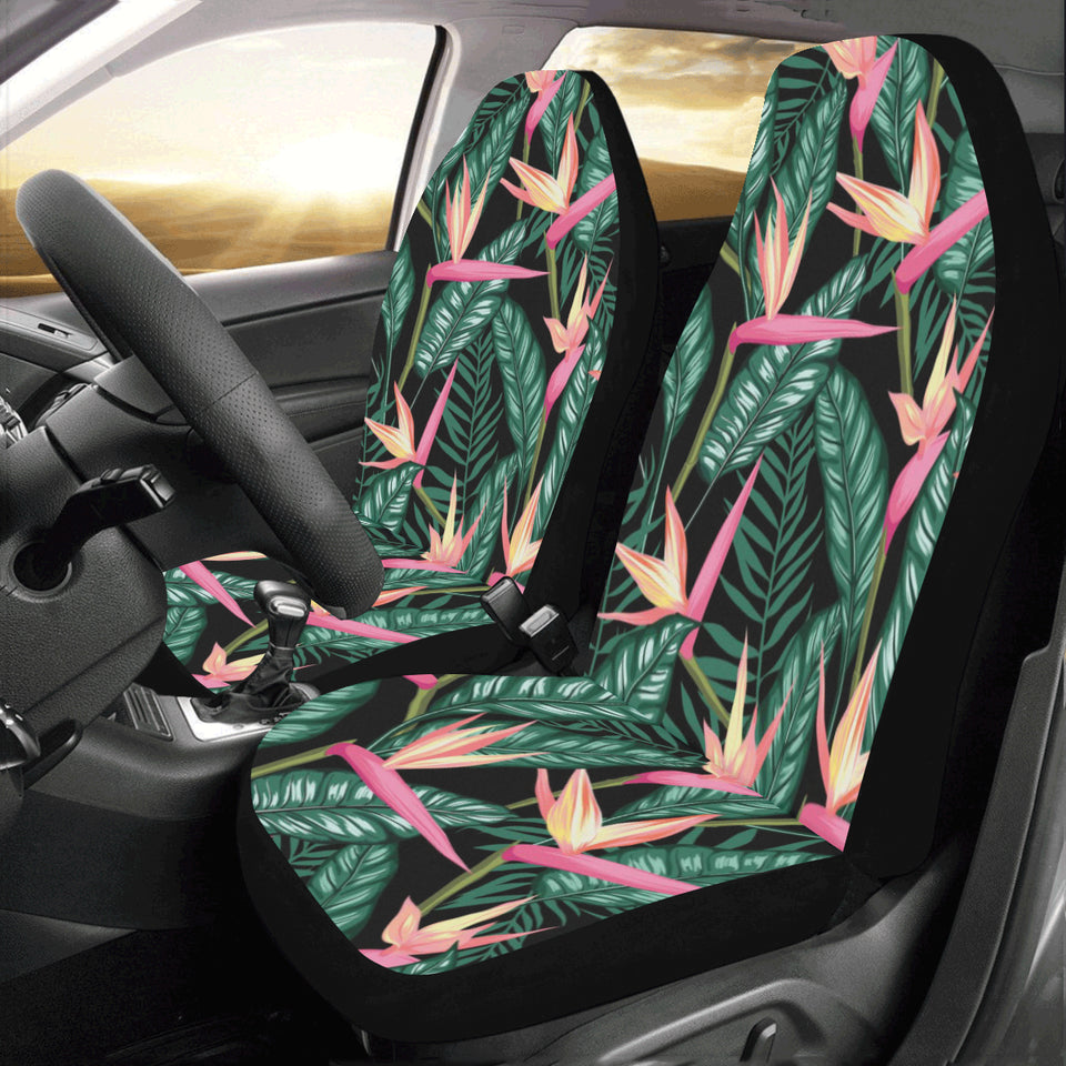 Bird Of Paradise Pattern Print Design BOP03 Universal Fit Car Seat Covers