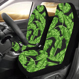 Banana Leaf Pattern Print Design BL01 Universal Fit Car Seat Covers