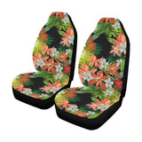Amaryllis Pattern Print Design AL07 Universal Fit Car Seat Covers