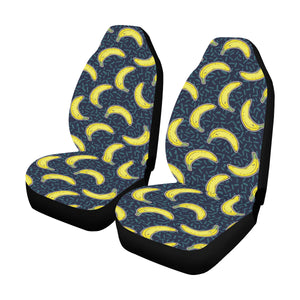 Banana Pattern Print Design BA09 Universal Fit Car Seat Covers