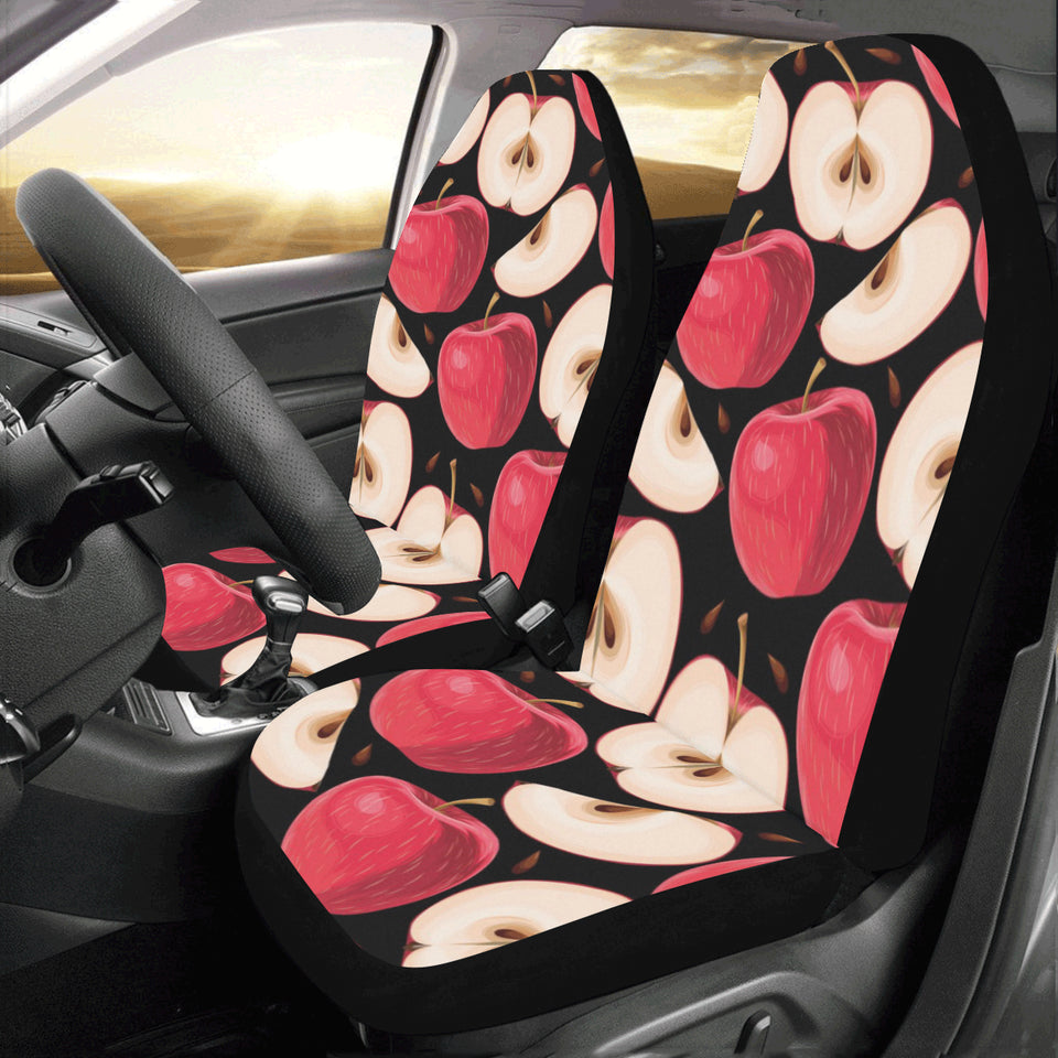 Apple Pattern Print Design AP02 Universal Fit Car Seat Covers