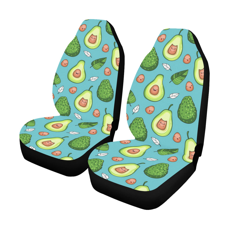 Avocado Pattern Print Design AC05 Universal Fit Car Seat Covers