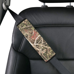 Camouflage Realistic Tree Authumn Print Car Seat Belt Cover