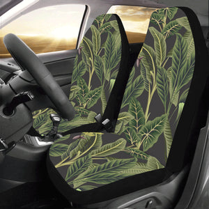 Banana Leaf Pattern Print Design BL04 Universal Fit Car Seat Covers