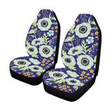 Anemone Pattern Print Design AM06 Universal Fit Car Seat Covers