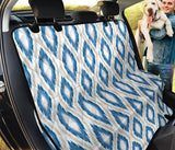 Ikat Pattern Print Design 02 Rear Dog Car Seat Cover Hammock