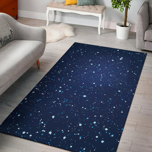 Night sky Pattern Print Design A03 Area Rug