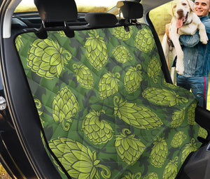 Hope Pattern Print Design 02 Rear Dog Car Seat Cover Hammock